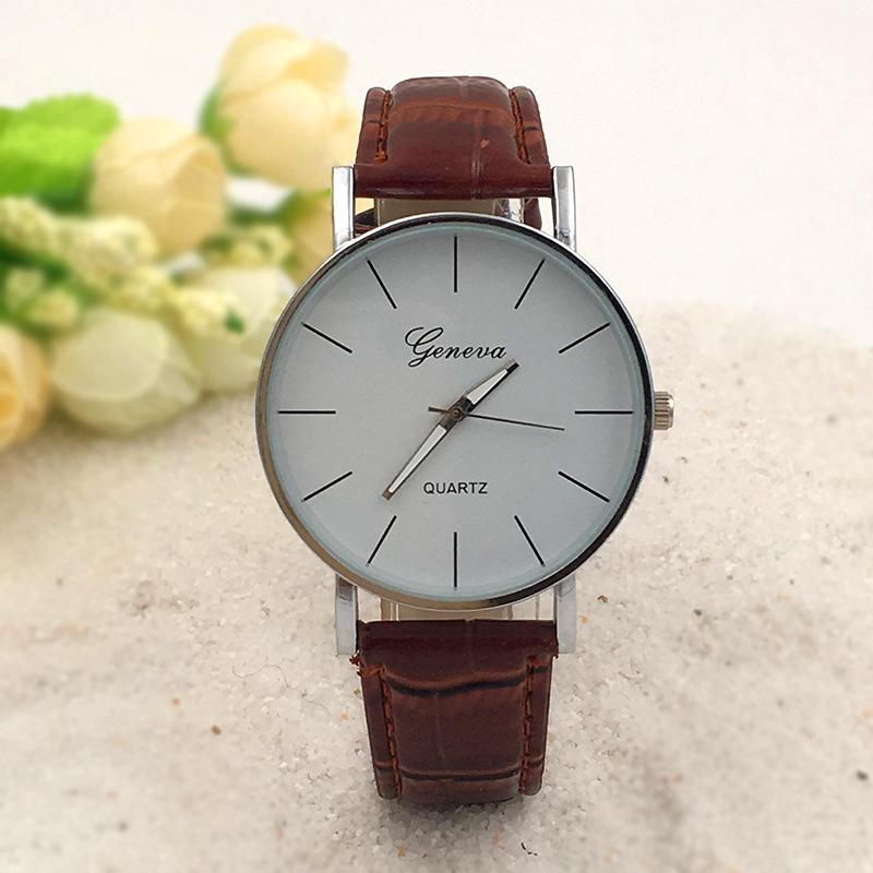 Hot Sale Watches men 2016 Watches men luxury brand Retro Design Geneva Watch Unisex Quartz Watch relogio masculino free shipping<br><br>Aliexpress
