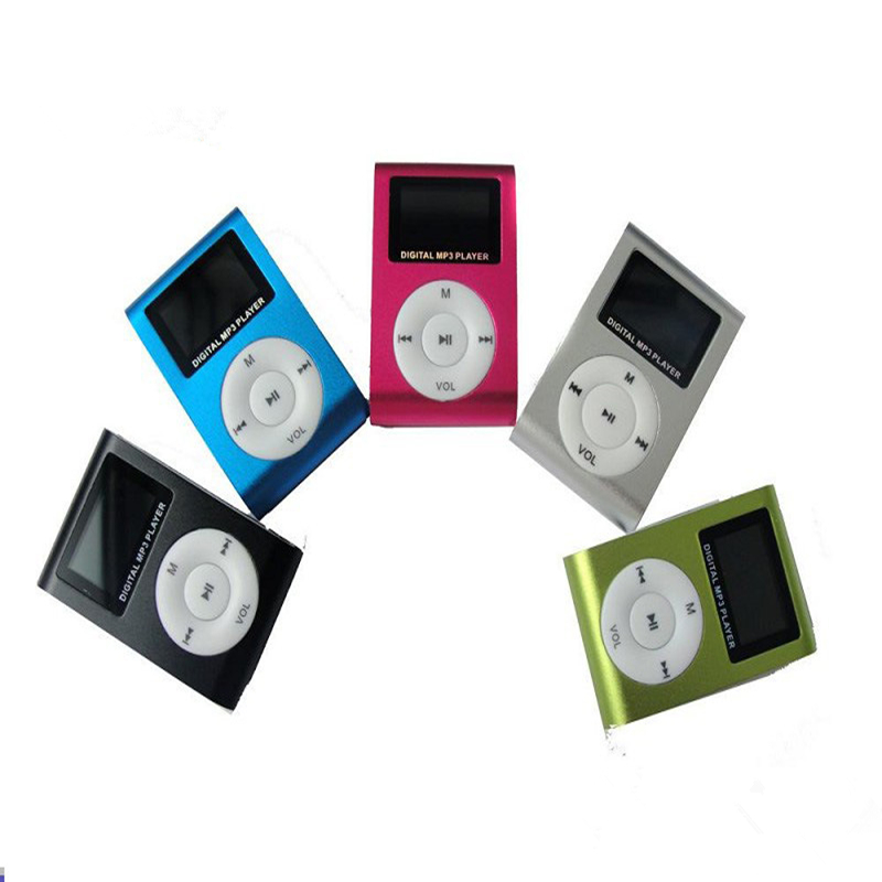 mini lettore lcd screen mp3 music musica clip player reproductor mp 3 kids speler aux usb digital sport mp3 players speaker hot(China (Mainland))