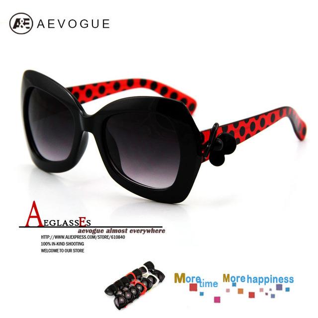 Aevogue цветочное оформление солнцезащитные очки женщины-многоцветный 7 солнцезащитные очки солнцезащитные очки óculos / gafas-де-сол 20 шт./лот AE0027