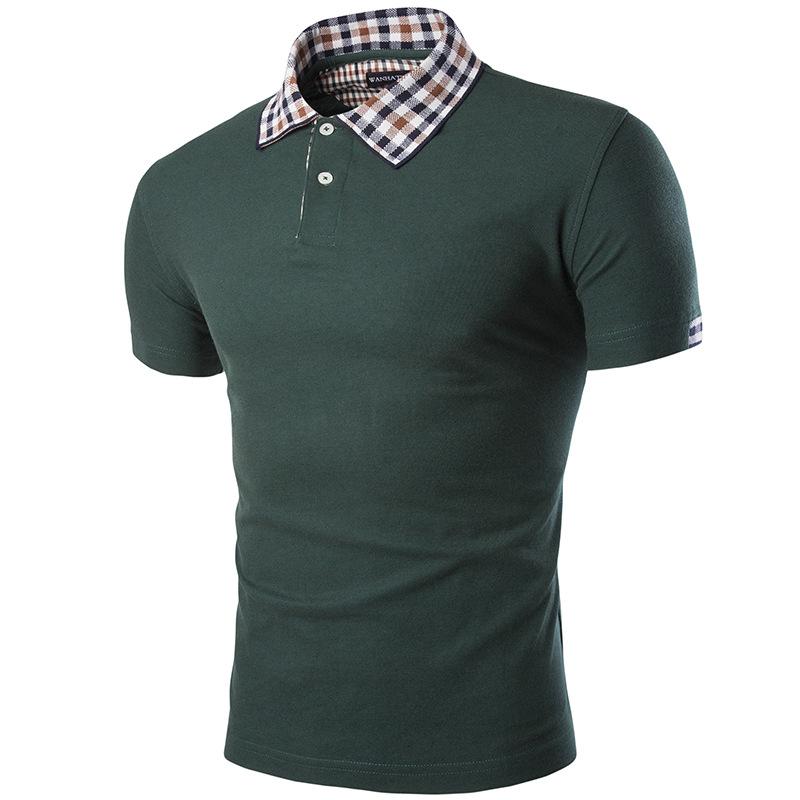 New 2016 Men's Brand Polo Shirt For Men Designer Polos Men Slim Cotton ShortSleeve Shirt Sports Jerseys Golf Tennis FreeShipping(China (Mainland))