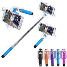 Mini Foldable Stick Tripod Monopod Wireless Selfie Stick Extendable Built-in Shutter Stick For iPhone Samsung Smartphone Selfie