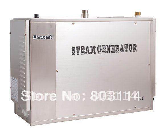 auto-descaling 12kw commercial steam generator with SUS316 heat element ,sequential heating system(China (Mainland))