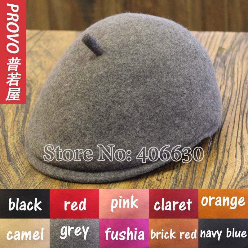 100% wool beret hats for women mens newsboy caps felt french flat hats chapeau gatsby free shipping(China (Mainland))