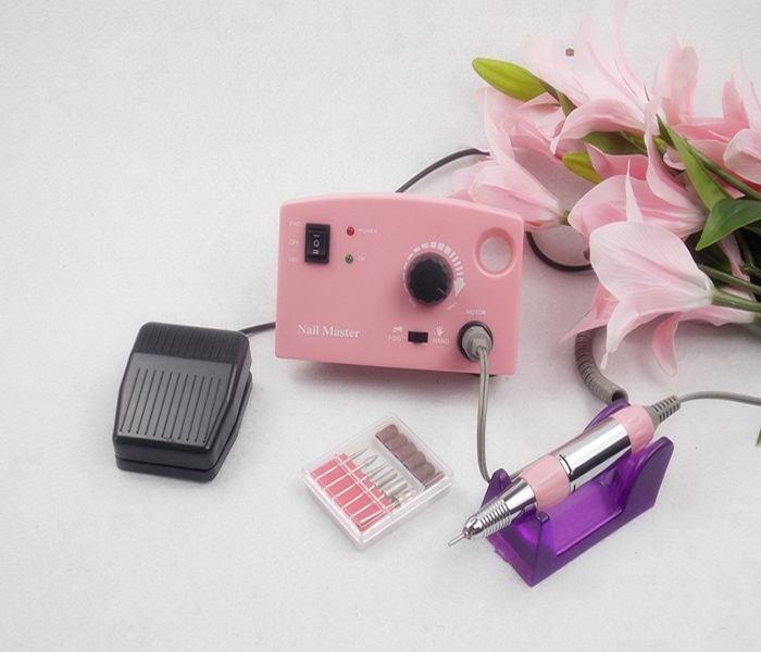professional 15w high power electrical nail drill hand nail polisher manicure tools with speed control foot pedal(China (Mainland))