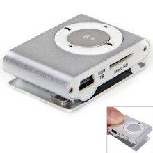 Comercio al por mayor MINI Jugador de MP3 del clip con Micro TF/SD con el mini MP3 y auriculares y cable de datos usb