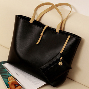2015 Fashion Street Women Lady Handbag Soft PU Leather Bags Tote Purse Solid Colors Shoulder Bag Small Hand holder - Perfect store