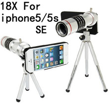 Buy mobile phone 18x telescope Camera Zoom optical Cellphone telephoto Lens apple iphone 5 6 6s 6plus 7 7plus,10pcs/lot for $203.98 in AliExpress store
