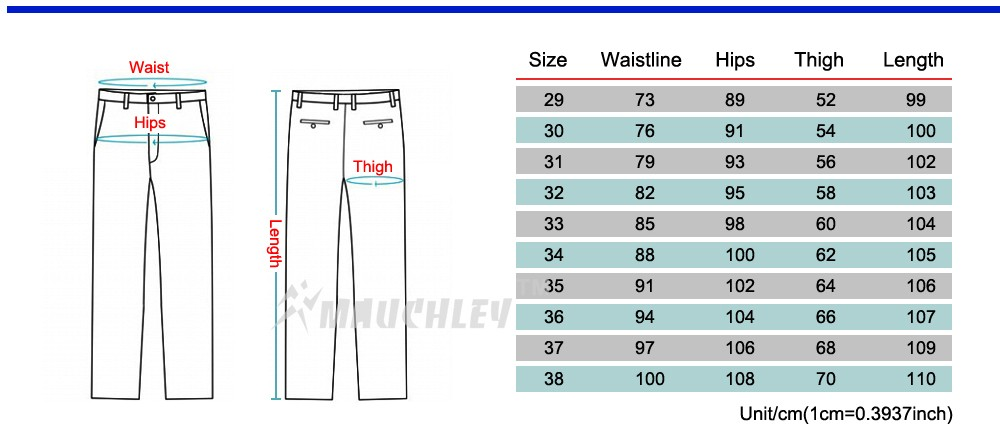 Men Slim Fit M-2XL -5XL