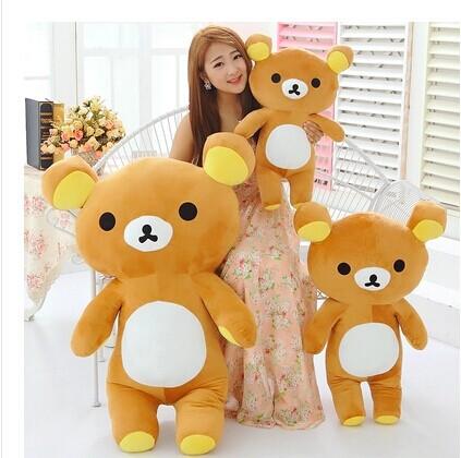 55 cm San-x Rilakkuma bear plush toy bear doll gift w5181(China (Mainland))