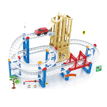 Buy DIY,Educational toys,rail car toy,multilayer railcar,Thomas,electric train track,model,best gifts,95-19,58pcs,rail train toys for $85.52 in AliExpress store