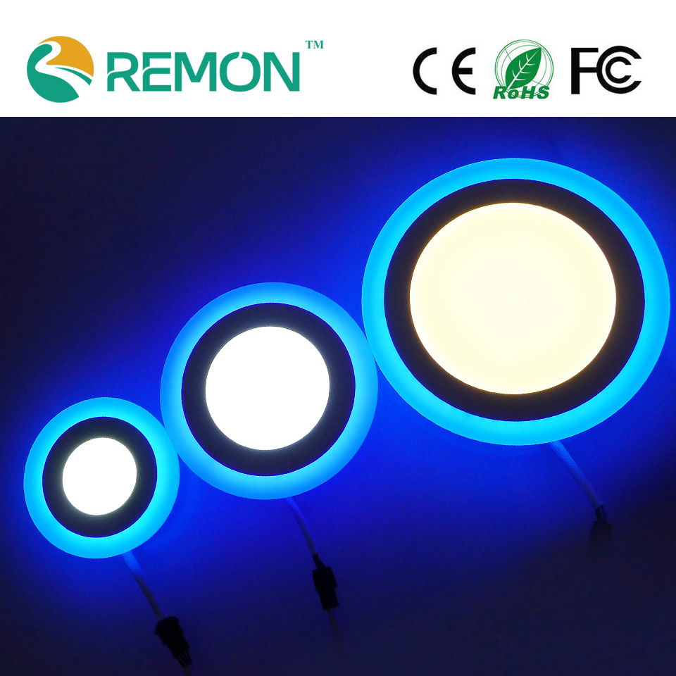 New Design 3 Model Changable LED Panel Downlight Round LED Recessed Lighting Fixture Ultral Slim Ceiling Lights Blue Lamp<br><br>Aliexpress