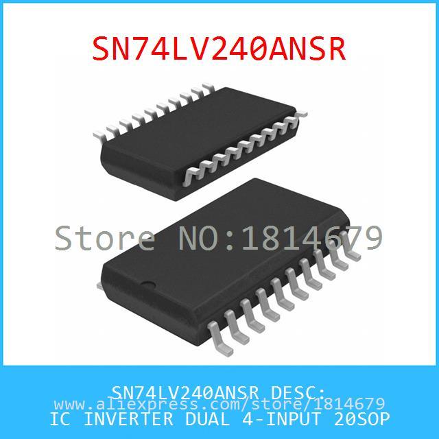 Integrated Circuits Types SN74LV240ANSR IC INVERTER DUAL 4-INPUT 20SOP 240 SN74LV240 5pcs(China (Mainland))