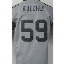 Cheap Men's 1# Cam Newton High quality #59 Luke Kuechly 100% Stitched Logos Gray Gridiron Gray Limited Jersey Free shipping(China (Mainland))