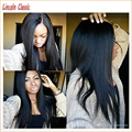 Yaki Straight Full Lace Wig Italian Yaki Virgin Brazilian Yaki Lace Front Wig Glueless Full Lace