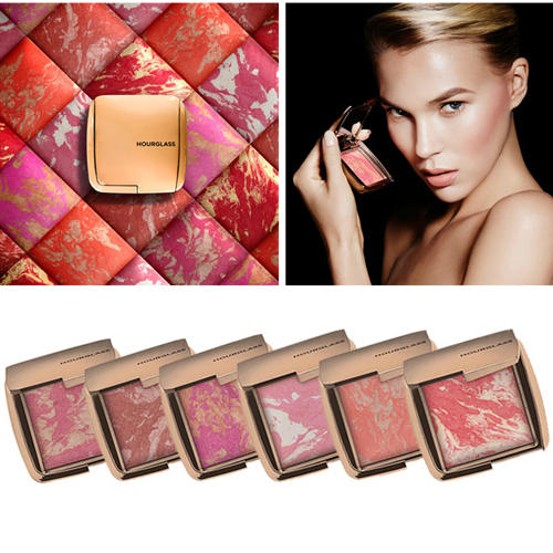 New Hourglass Ambient Lighting Blushes Maquillage Makeup Blusher DIM INFUSION/DIFFUSED HEAT/INCANESCENT ELECTRA/LIMINOUS FLUSH(China (Mainland))
