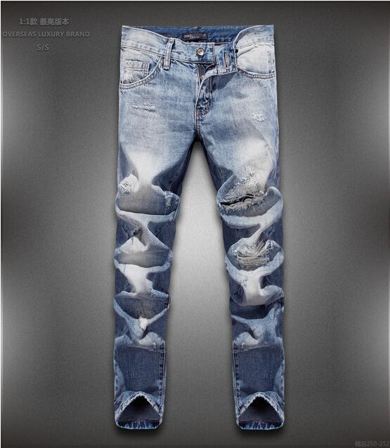 Здесь можно купить  Free shipping Classic Men Jeans High Quality Pure cotton Pants New  Fashion Jeans 28-34  Одежда и аксессуары