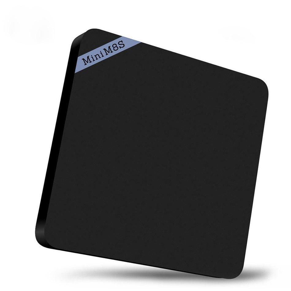 Black Mini M8S Set Top TV Box Amlogic S905 ROM 8G Quad Core Wireless Bluetooth 4.0 2GB RAM 8GB Smart Media Player EU/US UK Plug(China (Mainland))