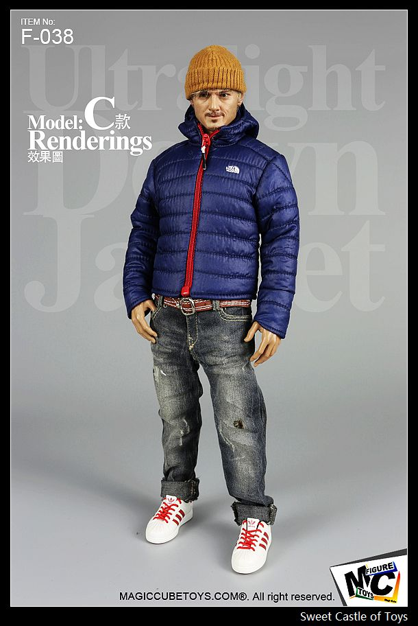 Magic Cube MC Toys 1/6 Action Figure Accessory - Ultralight Down Jacket Blue Ver. (Only come include the Jacket)(China (Mainland))