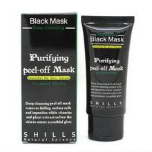 50g Shills Blackhead Remover Deep Facial Masks Deep Cleansing Purifying Peel Off Black Nud Facail Face Suck Black Mask(China (Mainland))