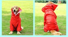 2015 New Supplies Pet Products   Waterproof Dog Raincoats Shop Pet Dog Clothes Clothing For Big Dogs  Rain Jackets