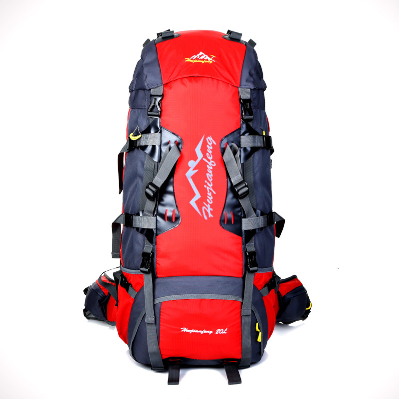 80L Outdoor Climbing Backpack Camping Travel Backpacks Waterproof Mountaineering backpack Men Women outdoor sport bag L-BDRW-02(China (Mainland))