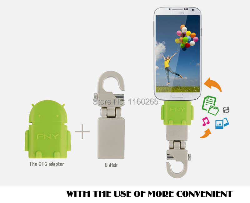 Real capacity 8gb 16gb 32gb USB Flash Drive OTG external storage micro 64gb pen drive smartphone