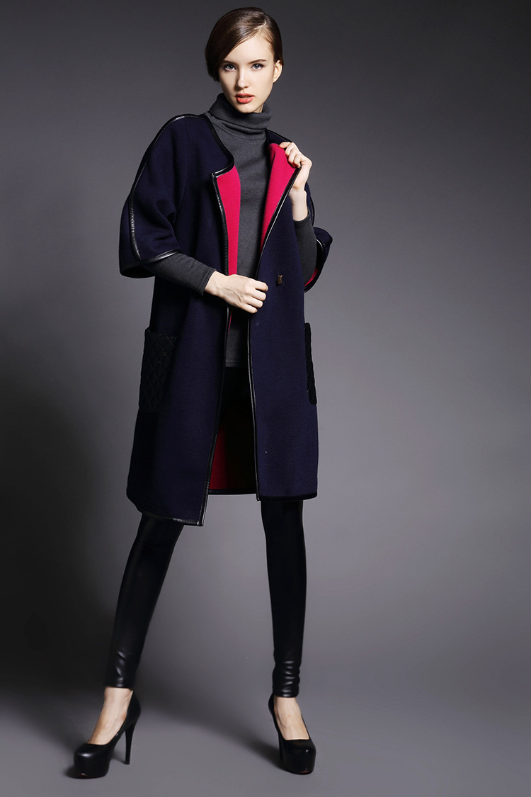 Здесь можно купить   Beauty world--2015 autumnn fashion large trench pockets three quarter sleeve one button solid color wool coat outerwear  Beauty world--2015 autumnn fashion large trench pockets three quarter sleeve one button solid color wool coat outerwear Одежда и аксессуары