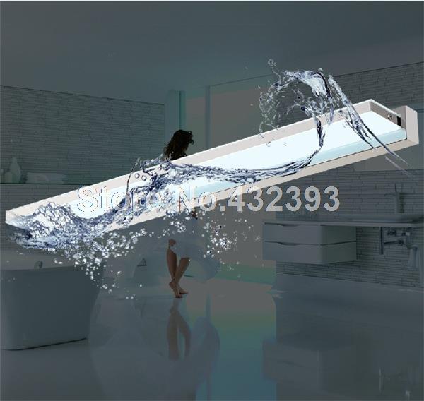 Aliexpresscom Compre Acrílico moderno levou armário com espelho à prova d & -> Armario De Banheiro A Prova DAgua