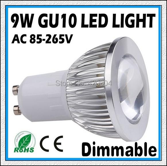 1PCS Free shipping 110-220V 3W 9W 12W 15W GU10 E27 E14 COB LED lamp light led Spotlight White/Warm white led lighting(China (Mainland))