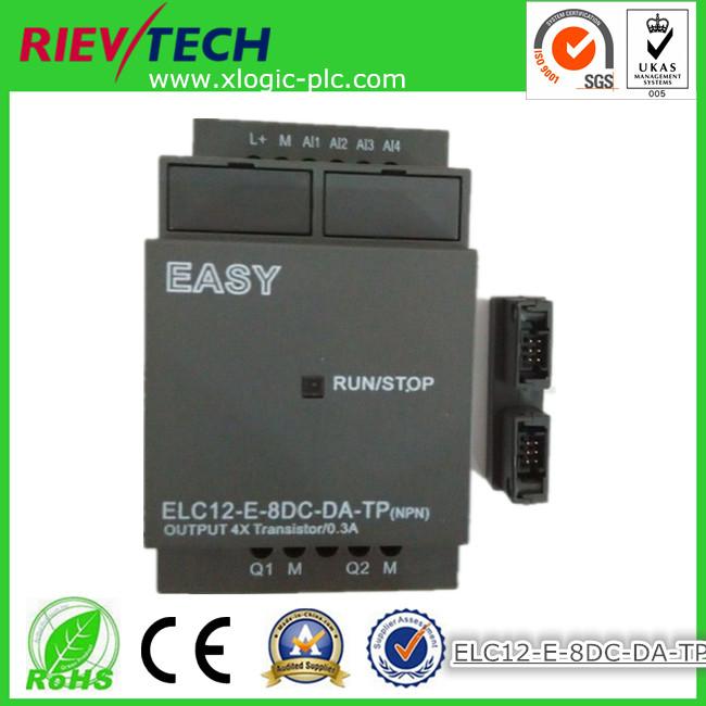 xLogic Micro PLC (Standard ELC-12 series extensions) transistor outputs ELC12-E-8DC-DA-TP(China (Mainland))