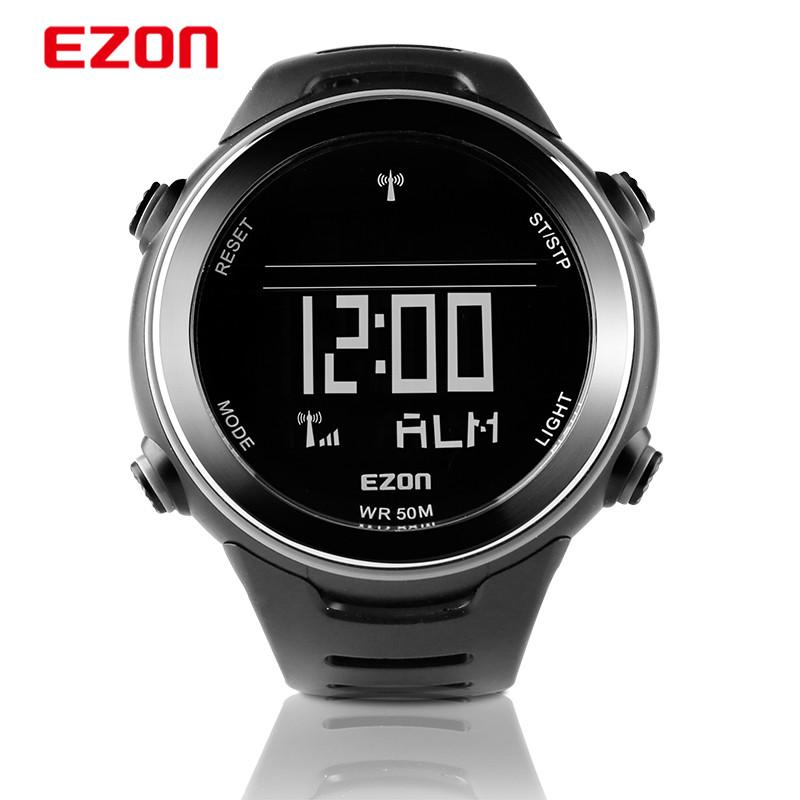 2015 Professional sports brand EZON Sport cycling Radio watch men outdoor sports watches 5ATM waterpfoor digital watch EN02
