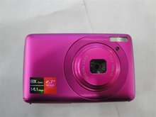 Hot! High quality New Fashionm 2.7″ 14.0 Million Digital Camera Pink +Free shipping
