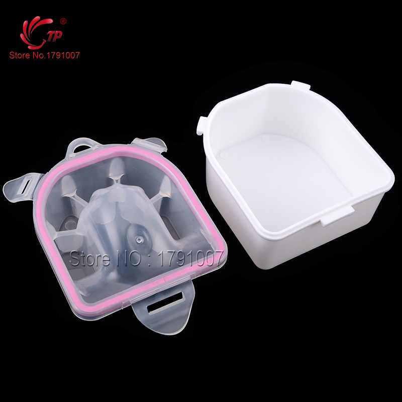 Nail Art Beauty Care Nail Salon Equipment Plastic Acrylic Nails Quick Soak Manicure Pedicure Accessory Tools Bowls(China (Mainland))