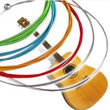 Hottest Sale High Quality Free Shipping Ancient Music Player Guitar Strings Rainbow Strings1 Pc Latest Hot(China (Mainland))