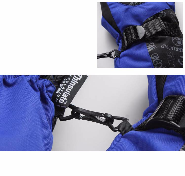 5GLV897 wholesale outdoor wind proof warm winter gloves climb mountain motorcycle thickening ski gloves