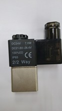 New Practical DC 24V Electric Solenoid Valve, Magnetic Valve(China (Mainland))