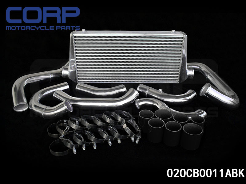 SUBARU Impreza WRX STI GDB (C - F) 11/02- Intercooler Kit BLACK<br>