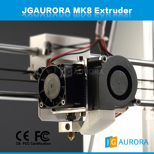 12V 3D printer parts 0 4MM extruder and hot end together with heating pipe and thermistor