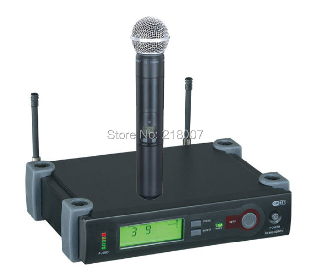 free shipping LST UHF wireless microphone wireless karaoke microphone professional for home KTV(China (Mainland))