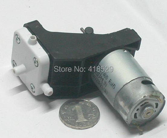12V DC 18W Pump Vacuum Pump Suction Tin Dedicated Up to -0.085Mpa(China (Mainland))