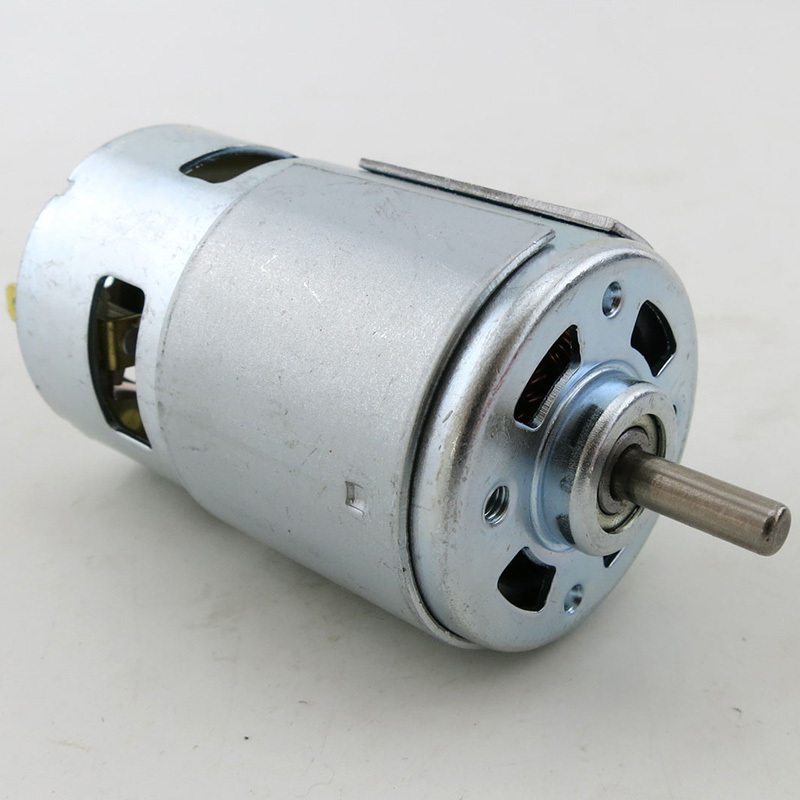 775 dc motor high speed high torque 12v 15600rpm hair for Ac motor hair dryer