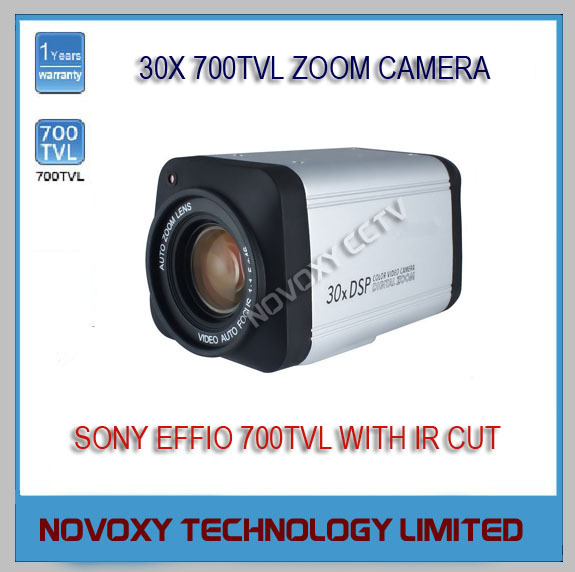 1/3 Inch Sony CCD 700TV Lines 30X Optical Zoom 3-90mm Vari-focal Lens 700TVL Integrated Security CCTV Box Camera - NOVOXY TECHNOLOGY LIMITED store
