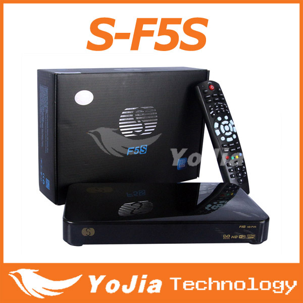 [Genuine] S-F5S digital satellite receiver Skybox F5S support usb wifi support cccamd newcamd weather forecast freeshipping(China (Mainland))