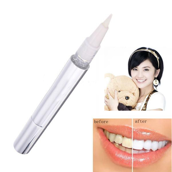 White Teeth Whitening Pen Tooth Gel Whitener Bleach Remove Stains oral hygiene(China (Mainland))