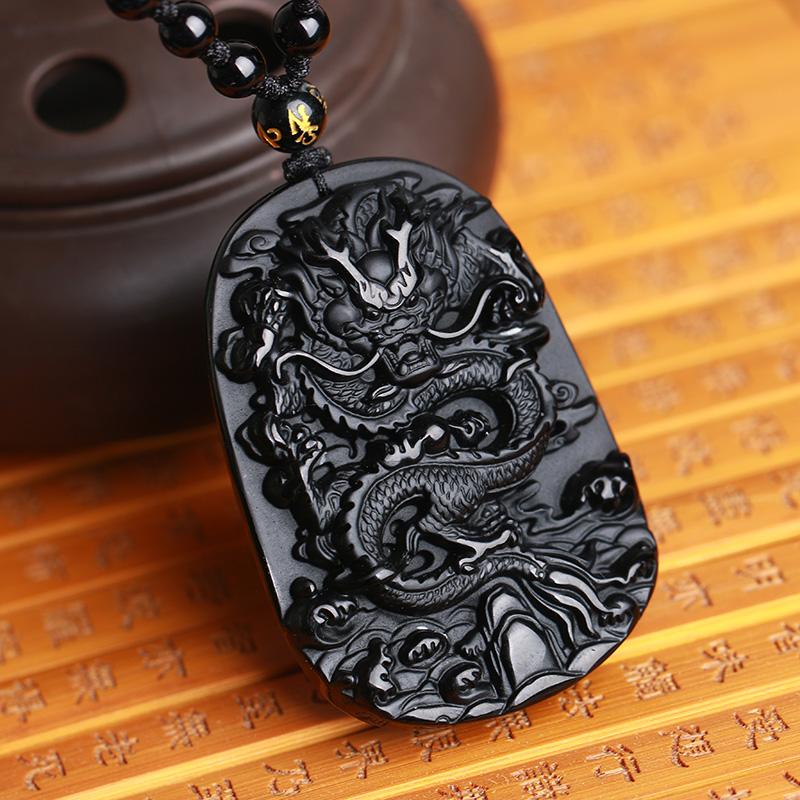 Dragon amulet necklace