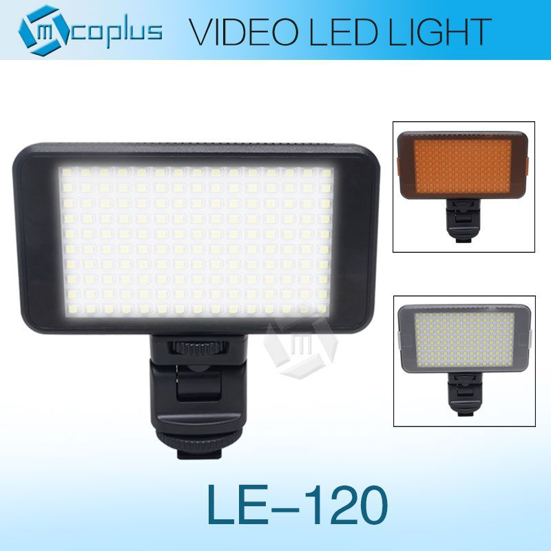 Mcoplus MCO-120 LED Video Light /photagraphy lighting for Canon Nikon Sony Pentax Panasonic Olympus &amp; DV Camera Comcorder<br><br>Aliexpress