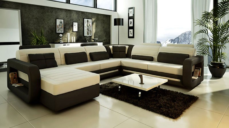 2012 best sale leather sofa set for Living room sofas on sale