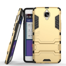 Buy New Dual Layer Hybrid Tough Rugged Armor Case One Plus 3 1+ 3T Fundas Stand Back Cover Mobile Phone Bags Oneplus Three for $2.92 in AliExpress store
