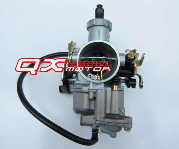 Pz27 acceleration pump carburetor cb cg 200cc motorcycle carburetor(China (Mainland))