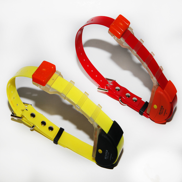 2 PCS    Waterproof Dog Gps Tracker Collar for Hunting